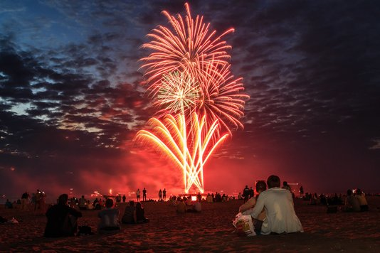 Newsflash: First evening International Fireworks Festival Scheveningen cancelled