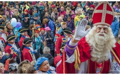 Arrival of Sinterklaas!