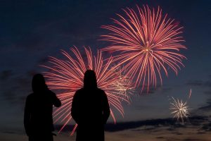 Winter Fireworks at Scheveningen