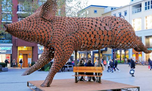 Gigantic Sculpture for Animal Rights