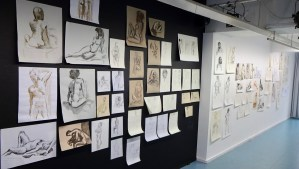 Model Drawings Exhibition @ Haagse Kunstkring