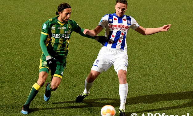 ADO Lose at Home to SC Heerenveen