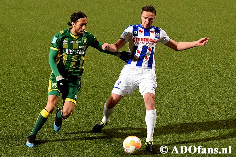 ADO Lose at Home to SC Heerenveen
