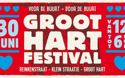 Groot Hart Festival on the Reinkenstraat