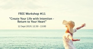 'Create Your Life With Intention' Workshop from Volunteer The Hague