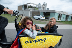 Cargoroo, the missing link in The Hague's shared mobility is live - test drive on Koningsplein @ Koningsplein, The Hague