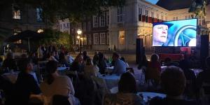 Outdoor cinema in The Hague: The Young Victoria