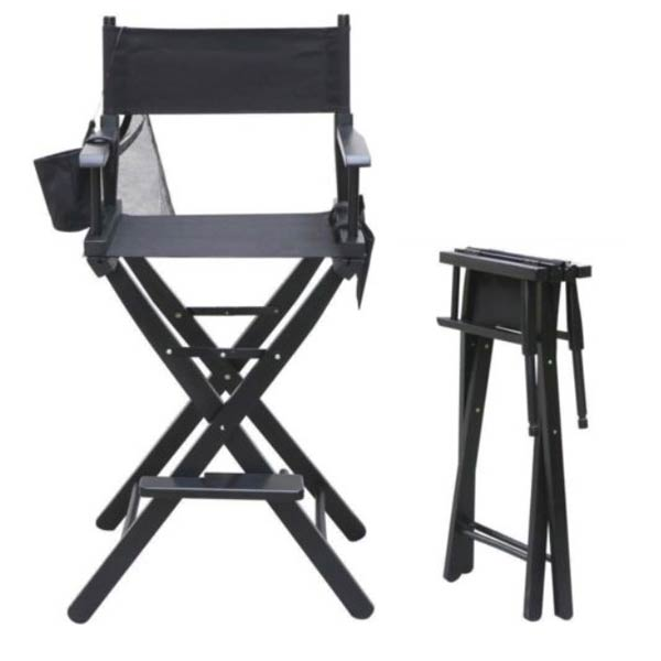 make up chair office max desk makeup artist directors foldable the hair beauty company