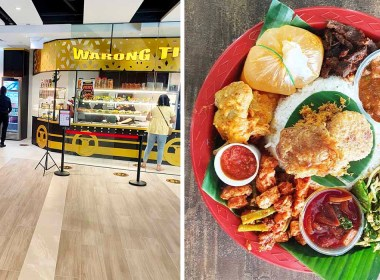 Woods Square has new Malay stall