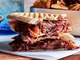 El Cubanos pulled beef sandwich