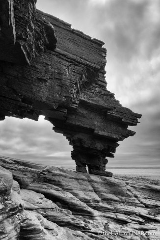Rock Arch, Westray - photograph (c) 2016 David Bailey (not the)