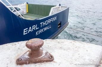 Earl Thorfinn - The Hall of Einar - photograph (c) David Bailey (not the)