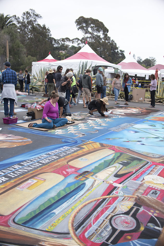 I Madonnari Art Walk