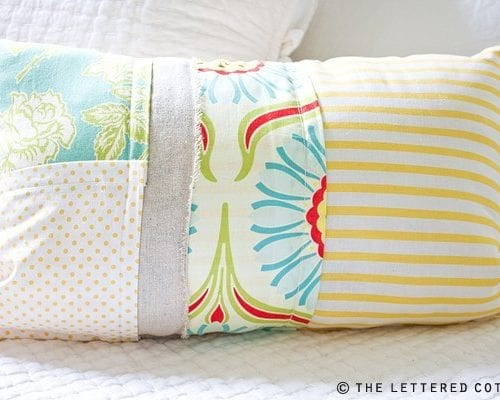 pillopalooza! : how to make a patchwork pillow