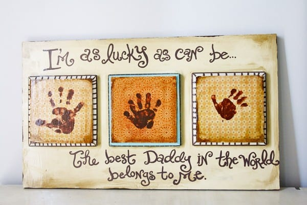 fathers day gift ideas - handmade