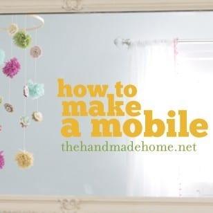 handmade nursery ideas : a diy mobile
