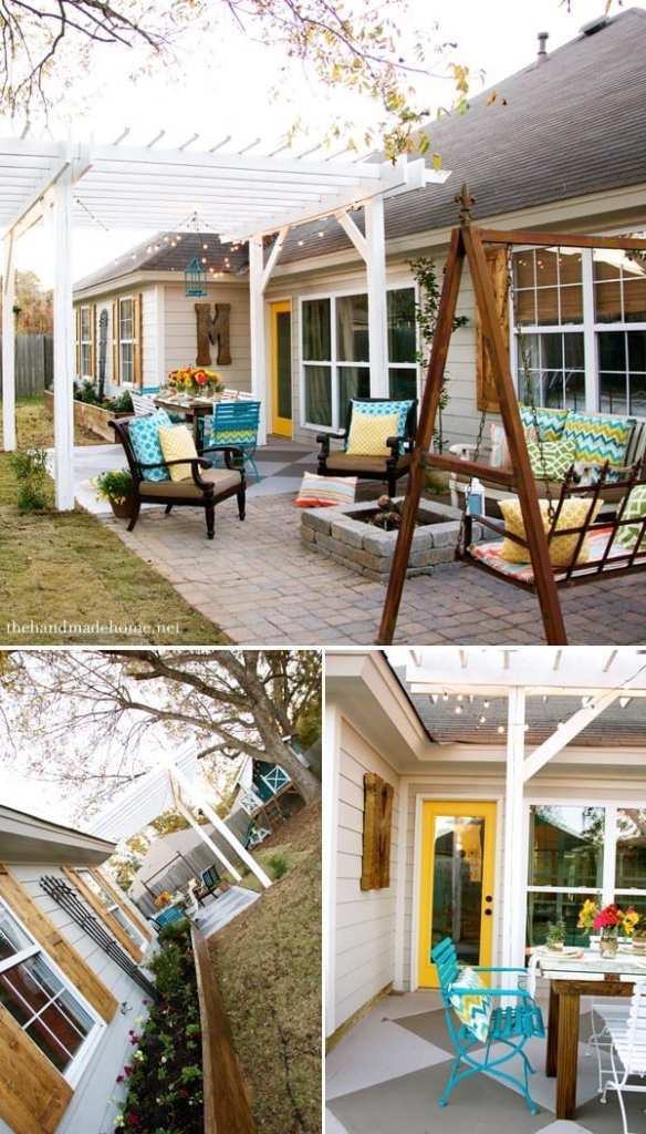 how to build shutters - backyard makeover
