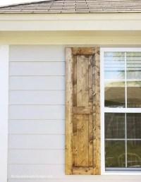 how to build shutters (diy shutters)