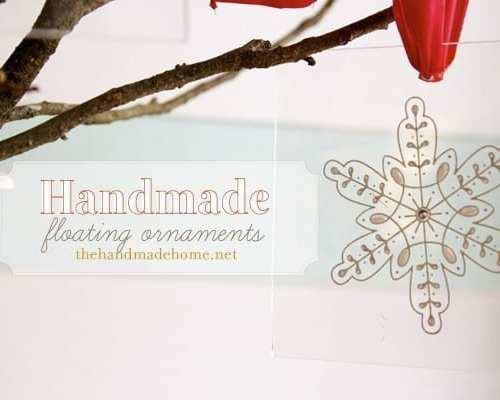 martha stewart crafts : handmade floating ornaments