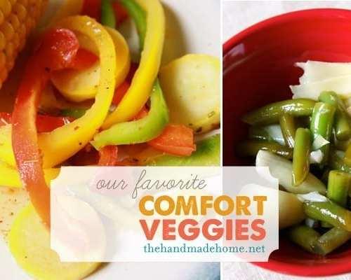 our favorite comfort veggies