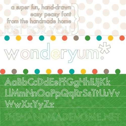 font snob club : more free fonts