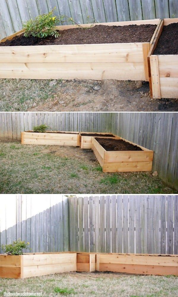 how to build a garden box - DIY garden boxes
