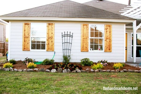 tips for creating an outdoor space - outside garden