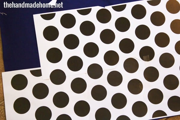 screen_printed_polkadot_pattern