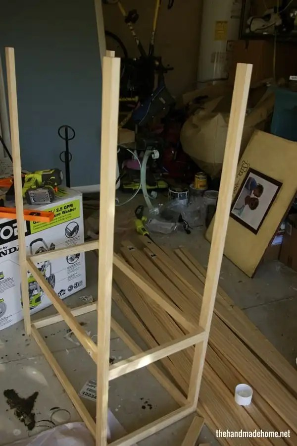 how to build a dollhouse - doll house frame