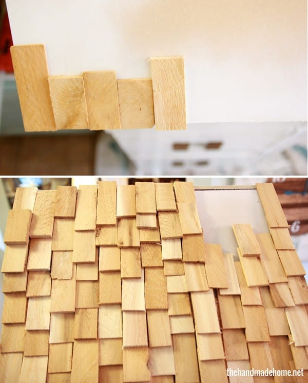 how to build a dollhouse - roof