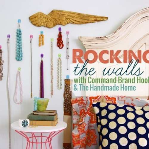 rocking the walls with command brand hooks