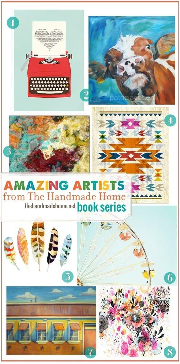 amazing_artists_handmade_home_book_series