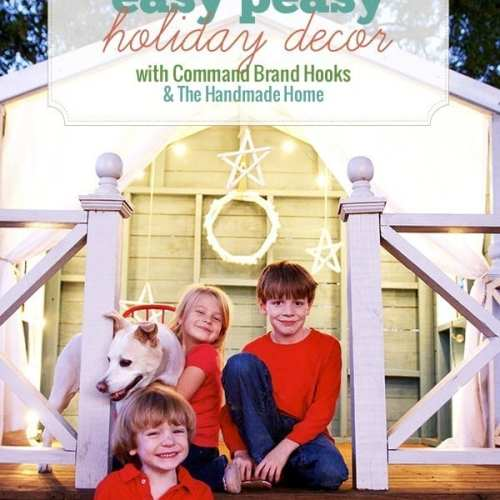 easy holiday decor with command brand hooks