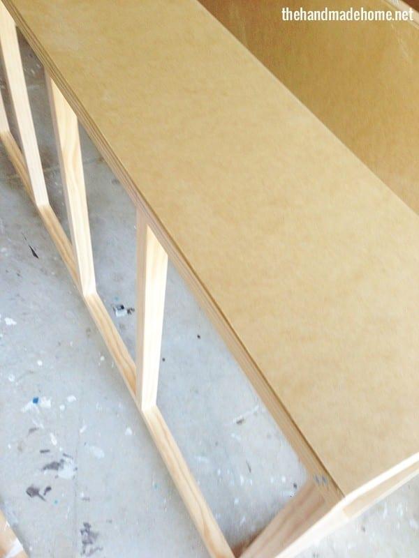 build your own bookshelf - frame