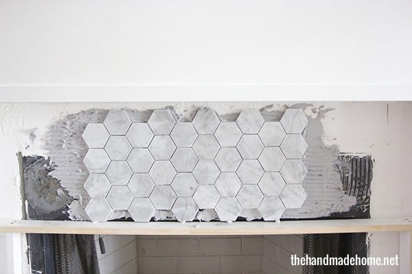 how_to_place_tile_on_a_mantel