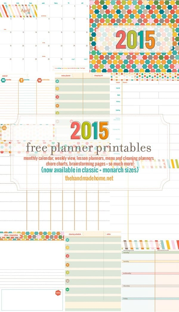 picture about Free Organization Printables for College Students identified as Absolutely free Planner 2019 - More than 350 Customizable free of charge data files - a