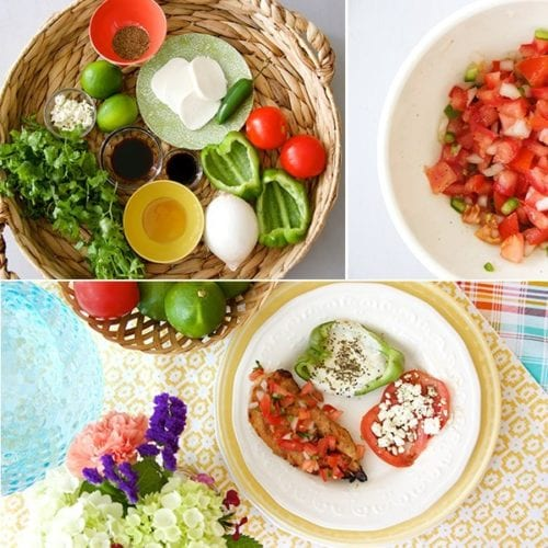 honey lime pico chicken