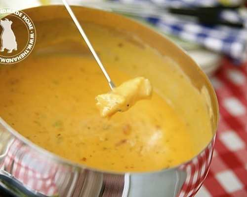 easy cheese fondue