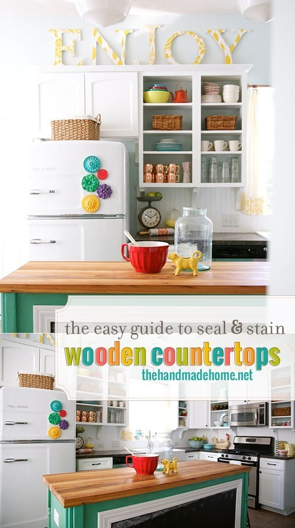 The_easy_guide_to_seal_and_stain_wooden_countertops.  The_easy_guide_to_seal_and_stain_wooden_countertops