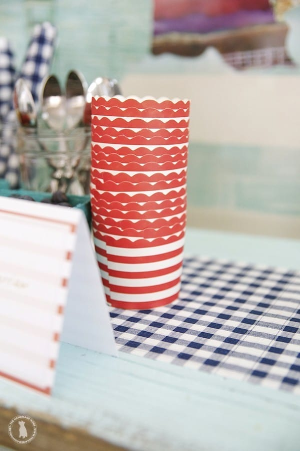 ice_cream_cups_and_plaid_towels