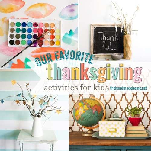 our favorite thanksgiving activities for kids