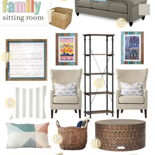 solutions for a family room