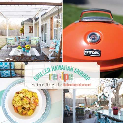 grilled hawaiian shrimp and a stok grill giveaway