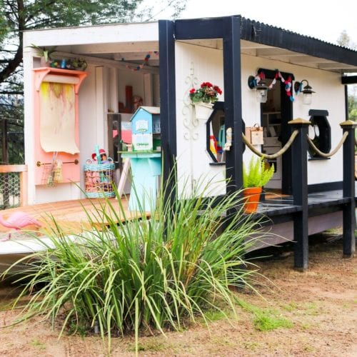 handmade hideaway – boathouse style