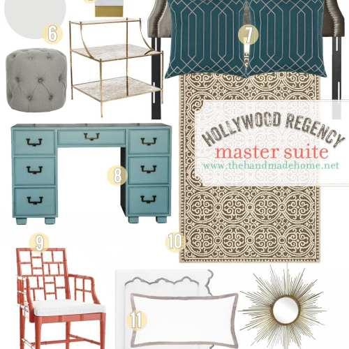 hollywood regency master suite