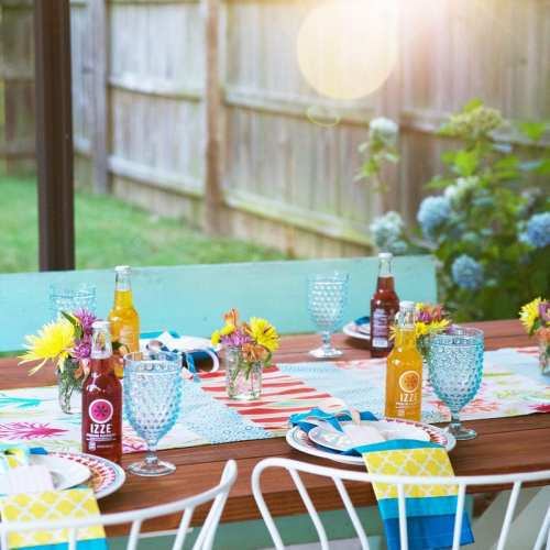 dining al fresco with waverly inspirations
