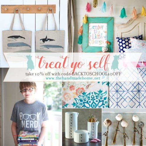 what's fresh and a back to school sale {treat yo self}