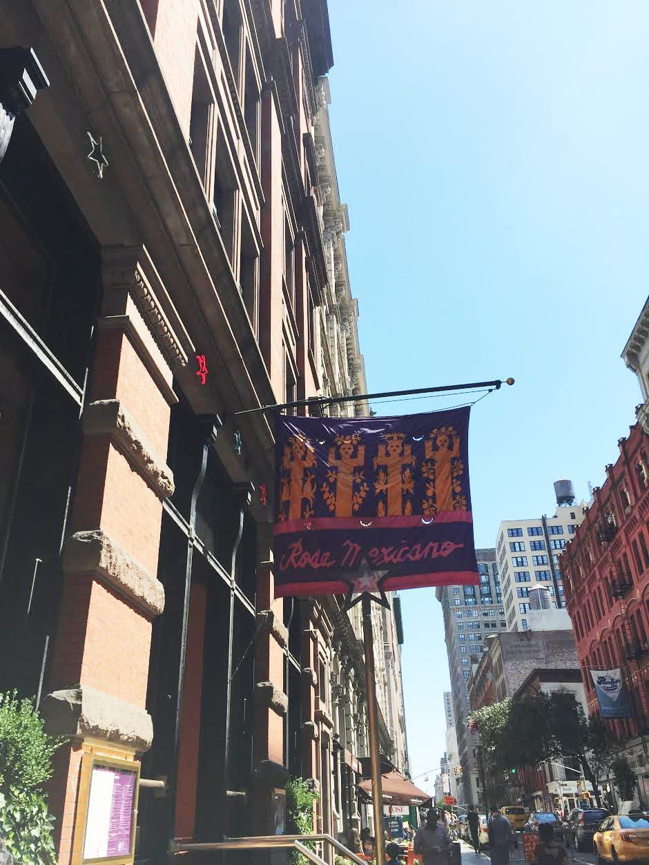 Things to see in New York City - rosa mexicano