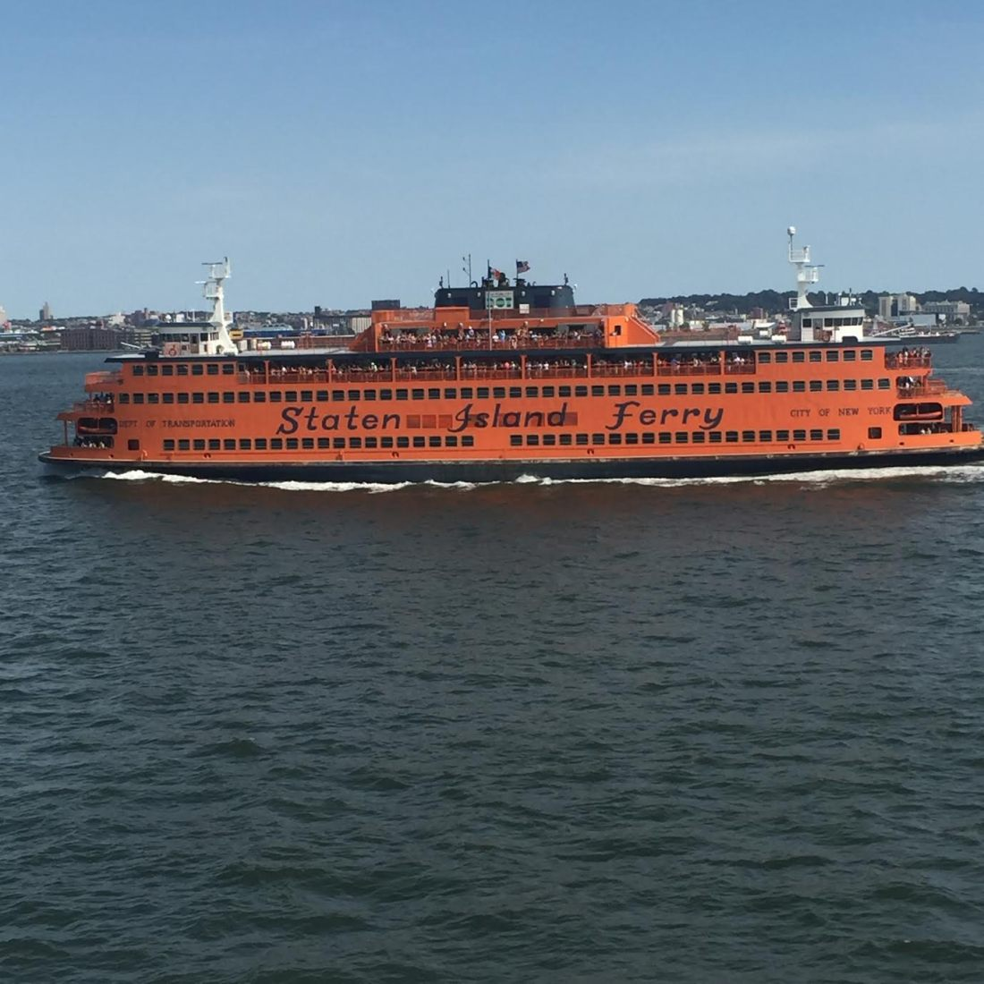 Things to see in New York City - Staten Island Ferry