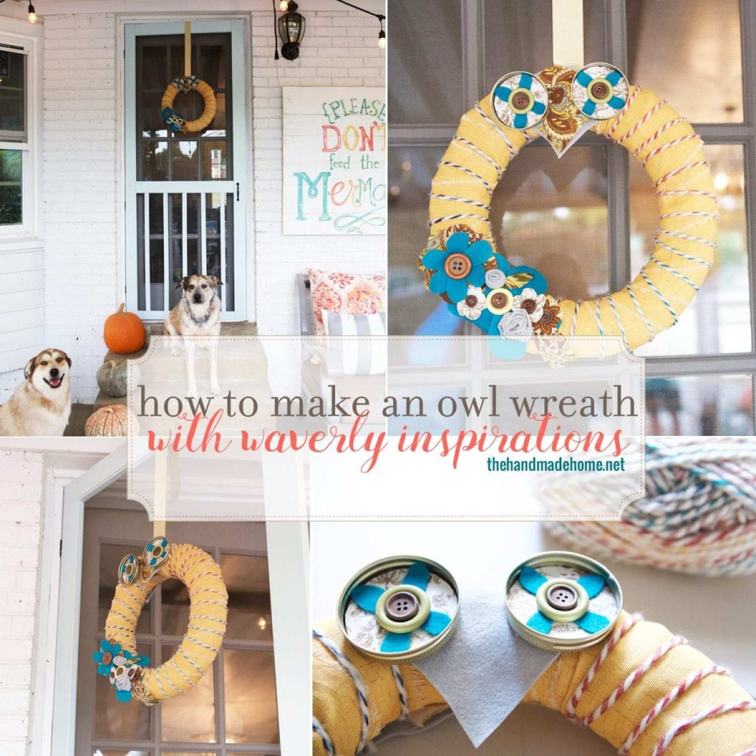 howtomakeanowlwreath
